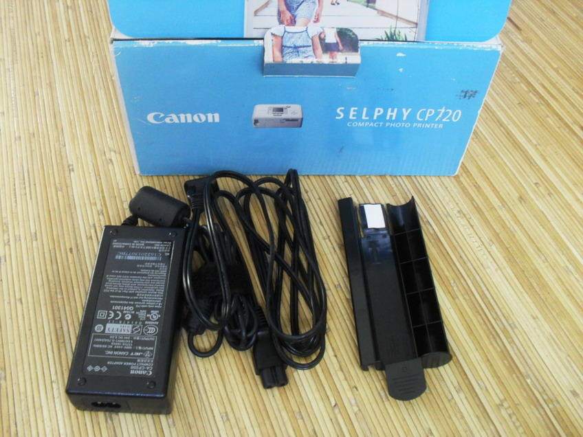 Canon SELPHY CP720 (Compact Photo Printer) Mulus banget....