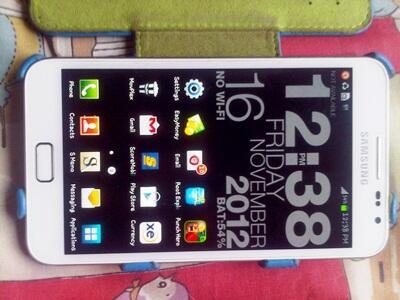 [WTS] Samsung Galaxy Note N7000 White Kondisi Mulus Masih Ajib GARANSI + BONUS !!