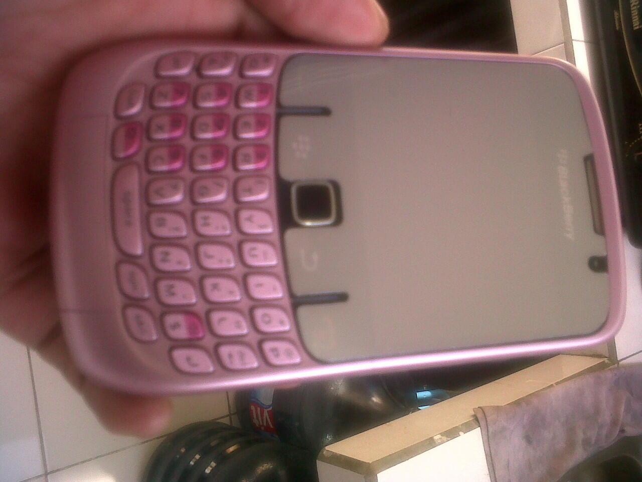 jual bb gemini 8250 pink bekas BANDUNG