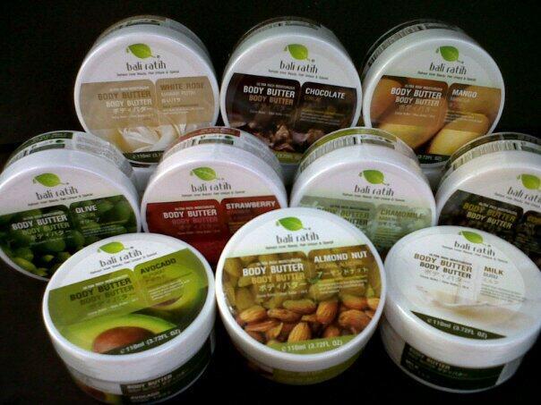 Jual Produk Bali Ratih (Body: Mist/Scrub/Lotion/Butter) sepaket