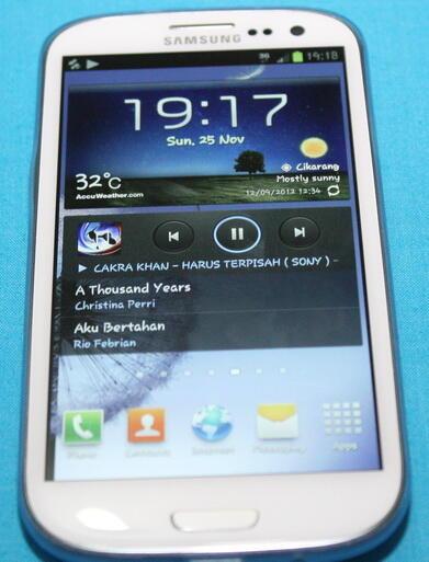 Samsung Galaxy S3 Marble White Kondisi OK Bangetzzz