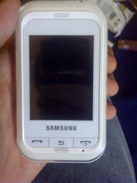 Jual Samsung Champ C3303 Warna Putih Like Newwwww