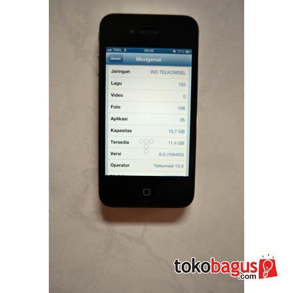 dijual iphone4 16gb . garansi sampai 20/02/2013