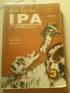 Buku IPA BSE untuk kelas 9 SMP