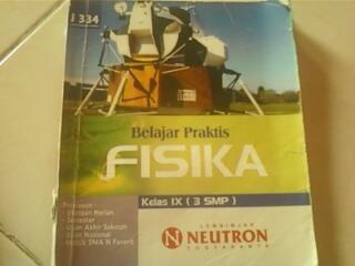 Buku Fisika (LBB Neutron) untuk kelas 9 SMP