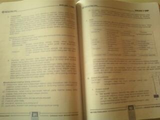 Buku Biologi & Kimia (LBB Neutron) untuk kelas 9 SMP