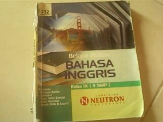 Buku Bahasa Inggris (LBB Neutron) untuk kelas 9 SMP