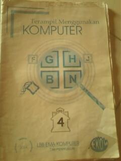 Buku TIK (Komputer) untuk kelas 4 SD