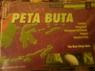 Peta Buta (Indonesia) untuk kelas 5 SD