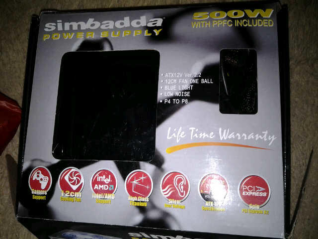 Jual Power Supply Simbadda 500watt version 2.2