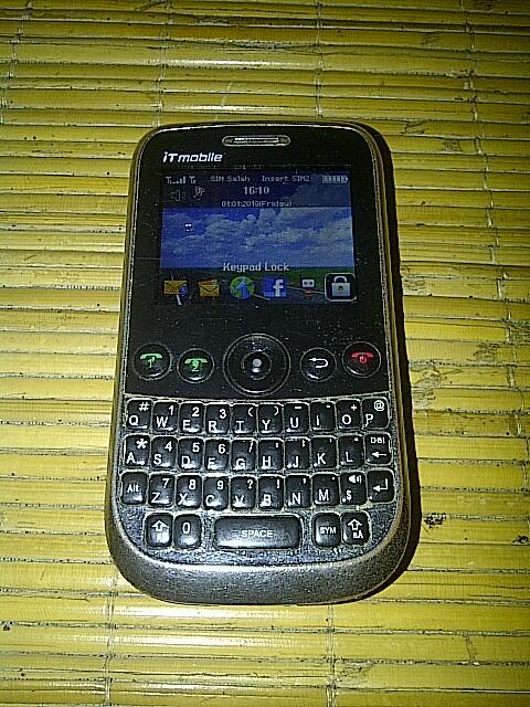 DIJUAL: HANDPHONE IT-MOBILE X699 ((Dual SIM, QWERT))