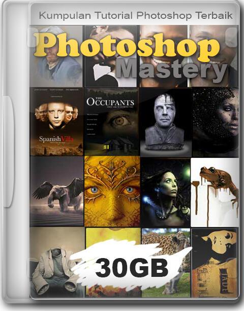 ++ Dijual Video Tutorial Photoshop | Lengkap Dari Dasar | FIle 30GB