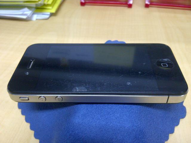 [REPOST] Jual Apple Iphone4 Black 32GB FU Fullset Mulus