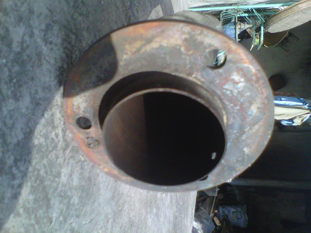 Leher/Pipa knalpot standard custom satria FU