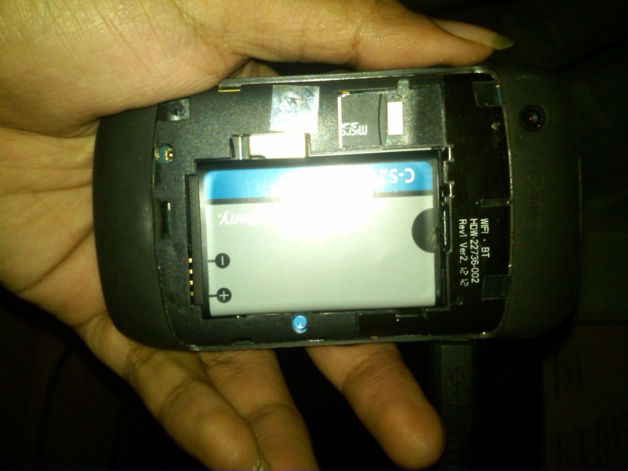 blackberry gemini garansi TAM 99,5% jos