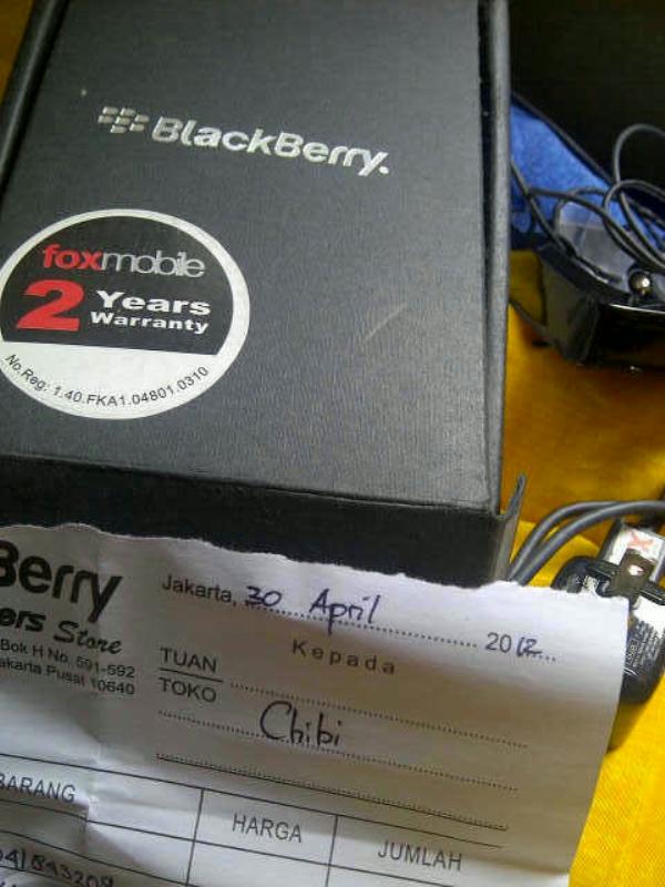 dijual blackberry torch 9810