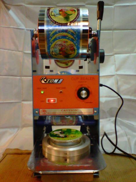 Mesin Cup Sealer Press Jus