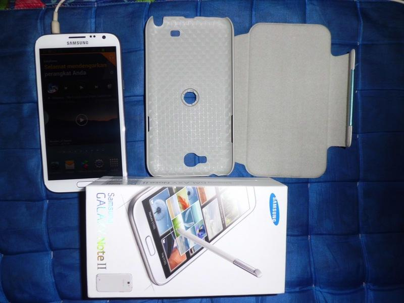 Galaxy Note II (GT-N7100)/ Galaxy Note 2 – 16GB, Warna PUTIH Gan…