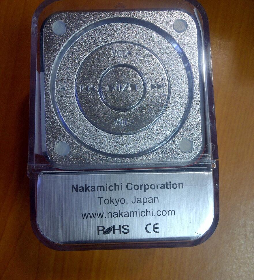 Terjual Nakamichi My Mini Plus Portable Speaker Include Fm Radio With Pink