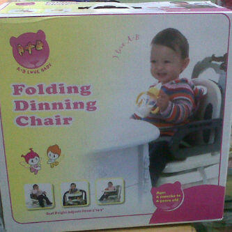 FOLDING DINING CHAIR A+B LOVE, EX KADO, 300RB