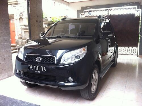 WTS terios TX 2008 hitam, milik pribadi, Denpasar Bali