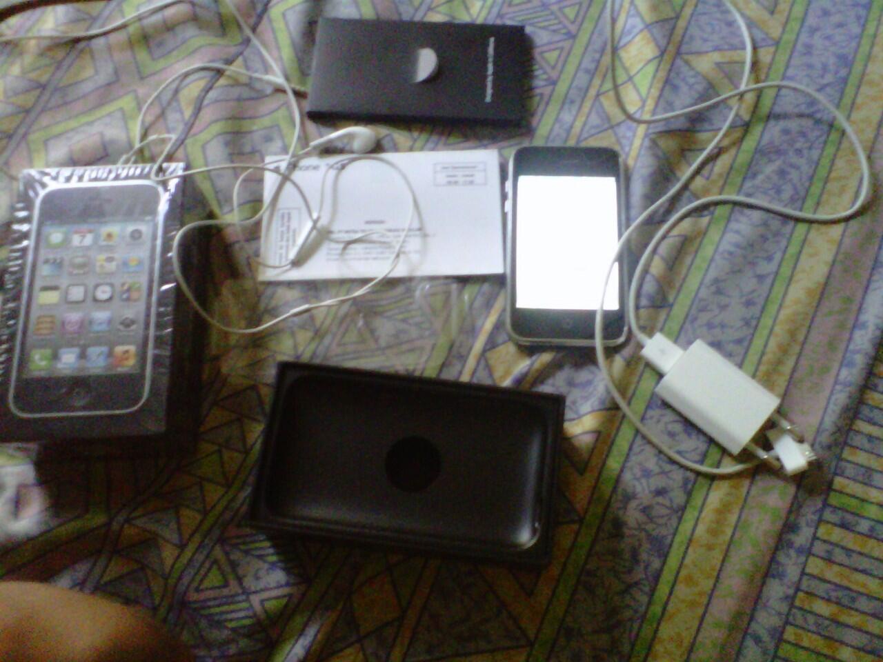 iphone 3gs 8gb black istimewa murah