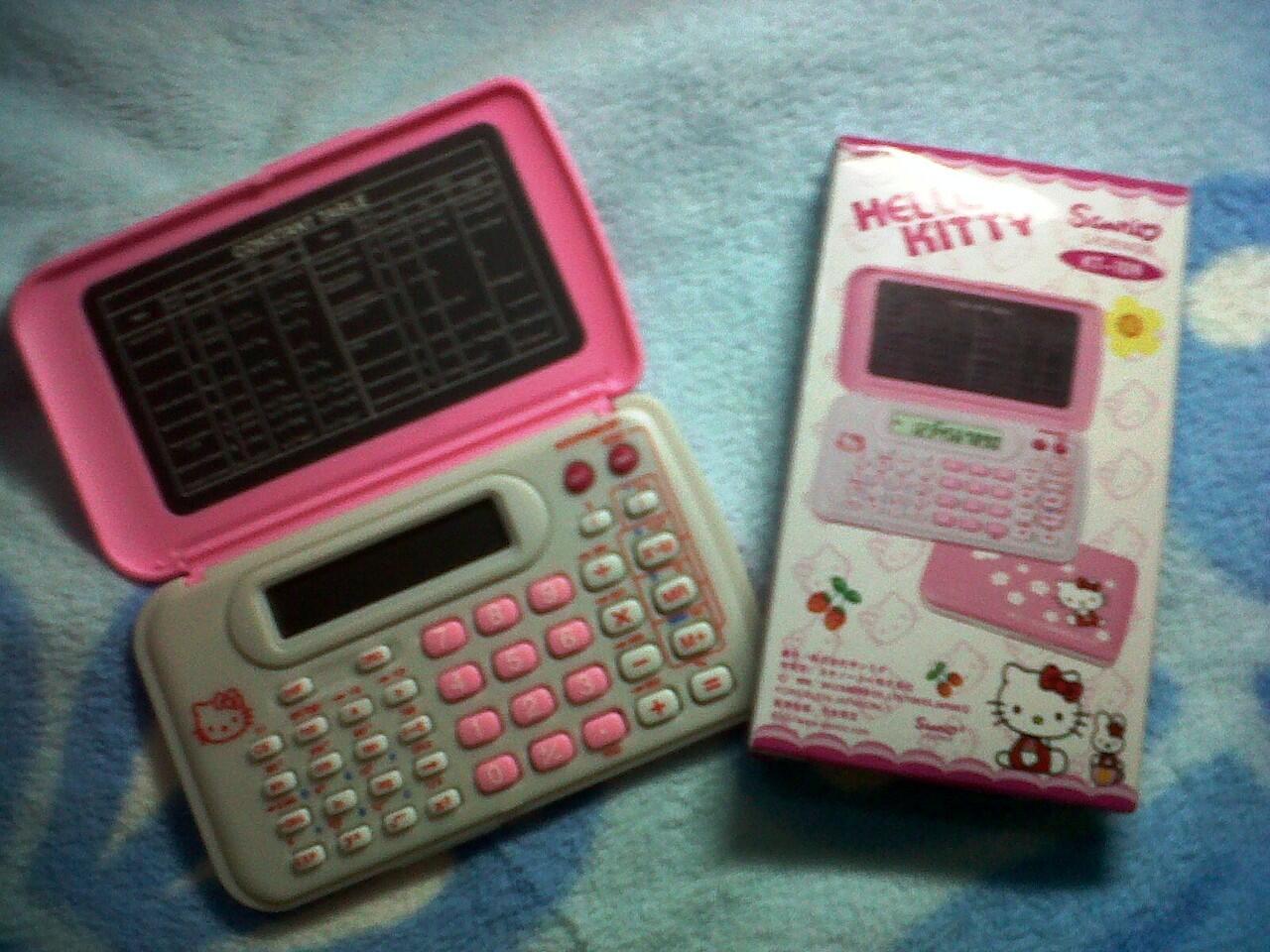 Kalkulator Scientific Hello Kitty 109