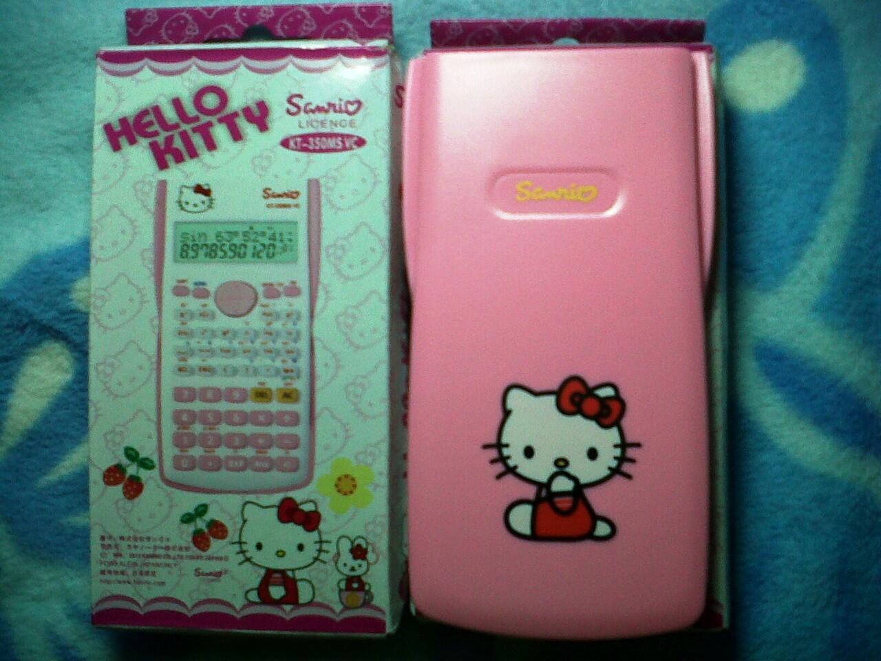 Kalkulator Scientific Hello Kitty 350
