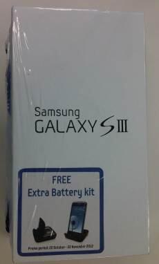 Jual - Samsung Galaksi SIII (Bonus Battre Kit)