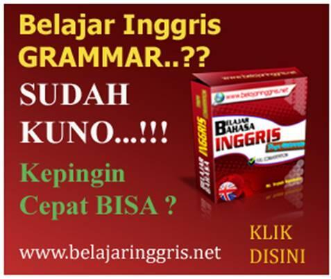 Belajar Bahasa Inggris Tanpa Grammar
