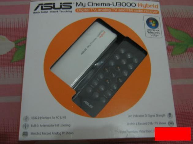 [OBRALLL] TV-TUNER ASUS MY CINEMA U-3000 (Baru 3 bulan) ... BU