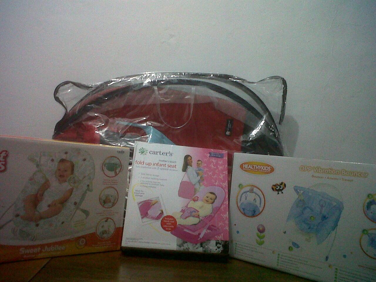 Baby Bouncer merk Brightstars / Healthy Kids /
