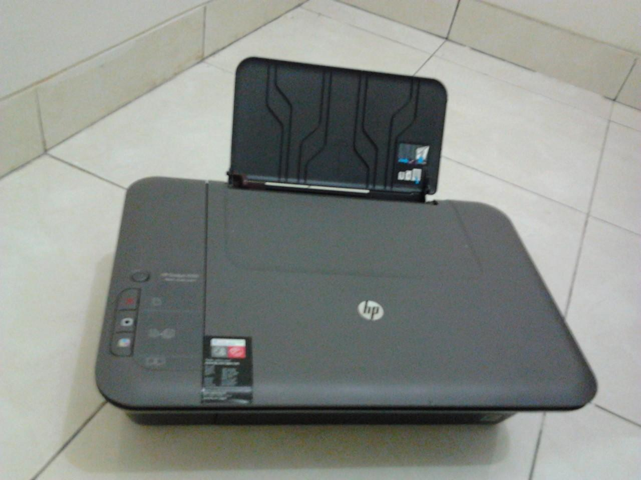 PRINTER & SCANNER HP DESKJET 1050 BEKAS
