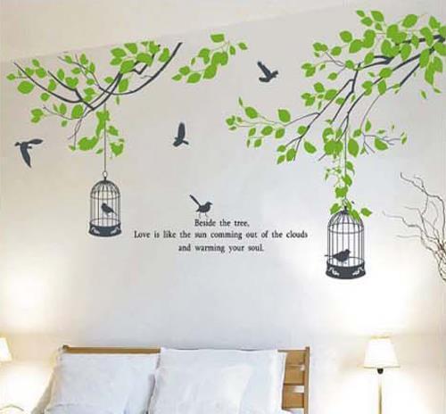 terjual ?dekorasi rumah, wall stiker / wall sticker bandung termurah