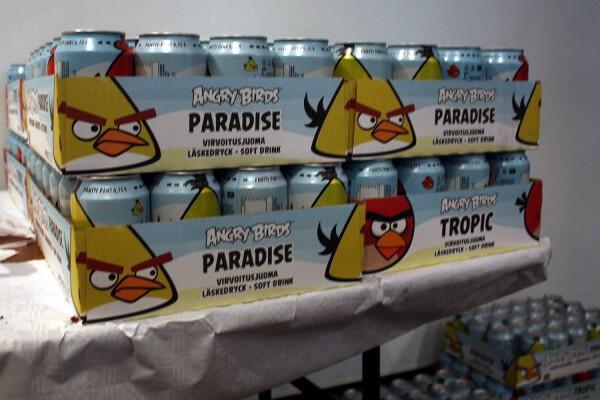 Angry Birds Soda Kalahkan Coca-Cola dan Pepsi sebagai Minuman Terlaris