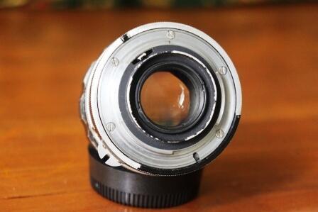 Lensa Manual NIKON auto 35mm f2 model belimbing. Cekidot gan..