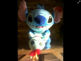 Boneka Stitch ! With lovely DOLL