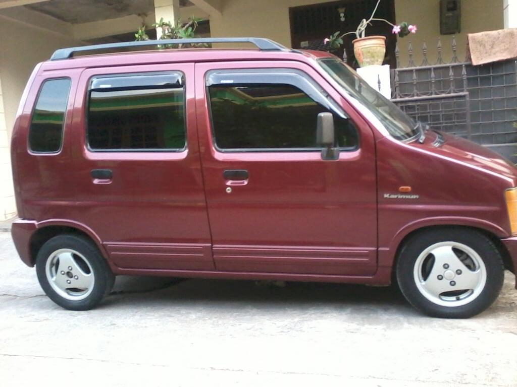 Suzuki Karimun th.2001 merah met. Ors Cat