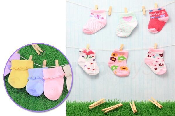 Cute Baby Socks (6pairs)