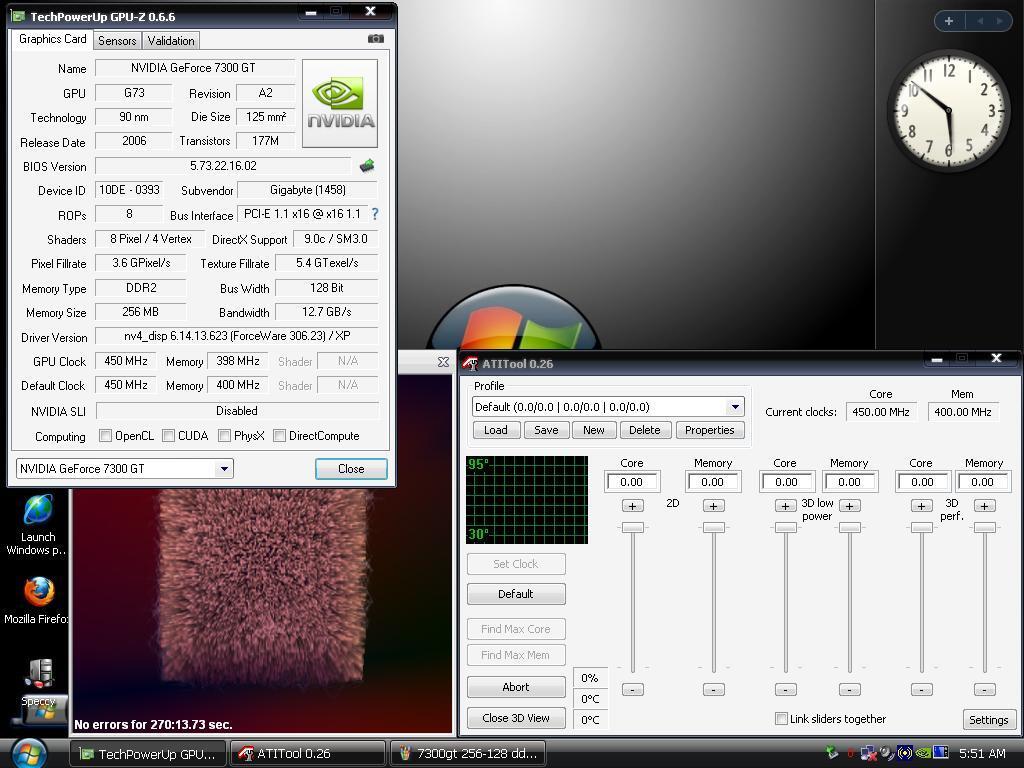 Nvidia GF 7300GT 256MB 128Bit DDR2