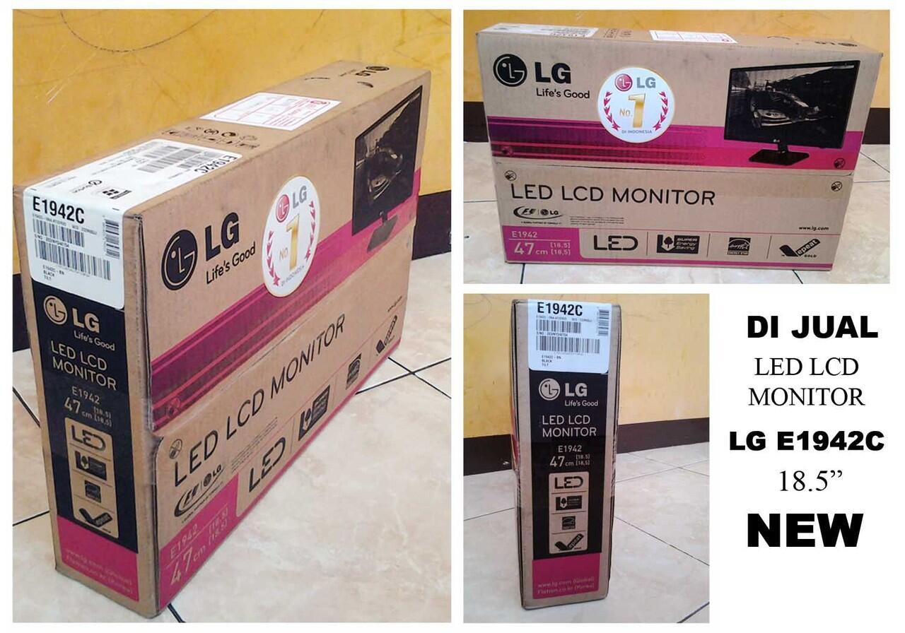 cepat lcd monitor LG E1942C murah