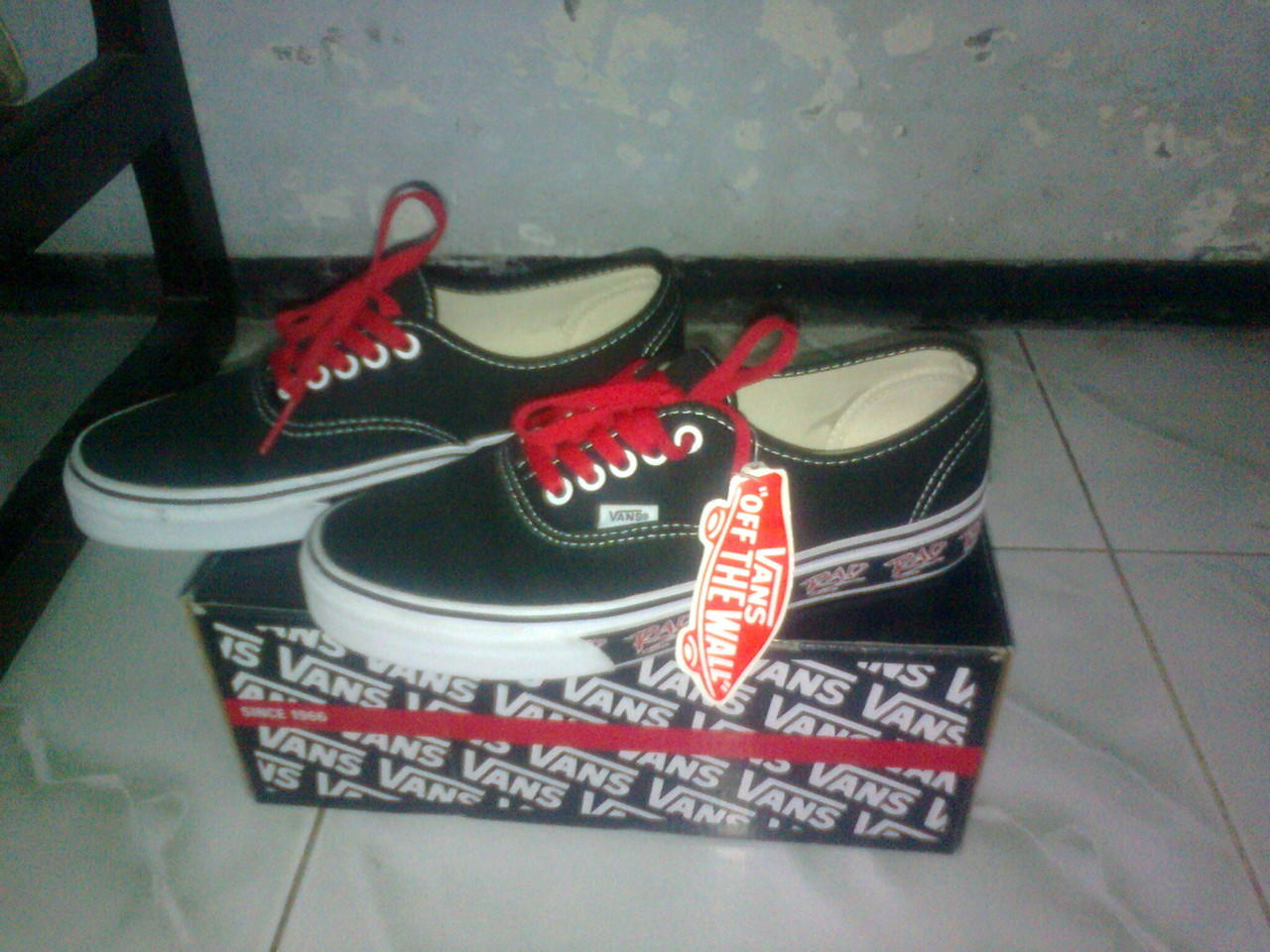 0bb602450b7d Terjual Vans Authentic RAD Pack BLACK Rare