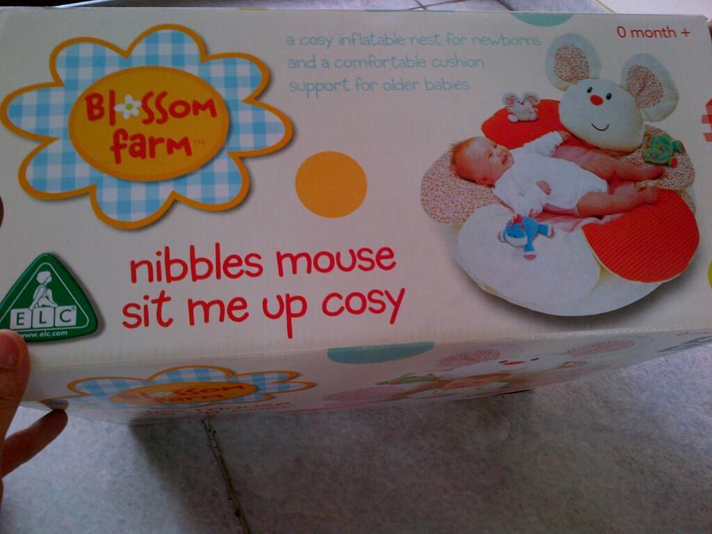 [JUAL]Blossom Farm Nibbles Sit Me Up Cosy & Sit Me Up Cosy, Harga Murah Bener!!