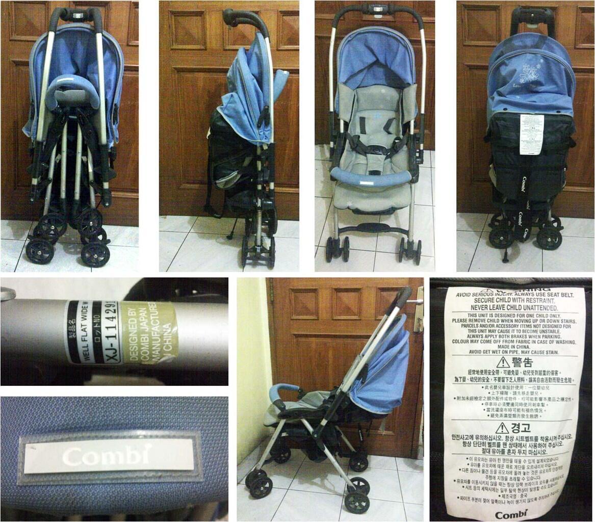 stroller combi wall flat wide