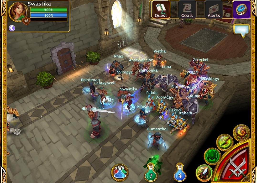ARCANE LEGEND (WEB BASED GAME)