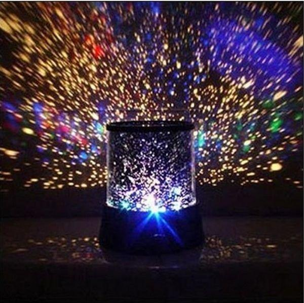 LAMPU TIDUR PROYEKTOR BULAN BINTANG ( STAR-MOON) STAR BEAUTY MASTER + MUSIK + ADAPTOR