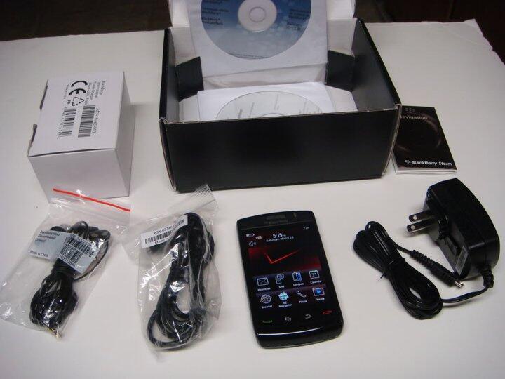 BlackBerry Storm2 9550 Odin baru dan bersegel