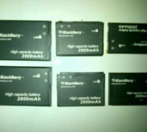 NEW BATTERY 2800MAH BB 8520, 8900, 9000, 9105, 9360, 9800,9900.