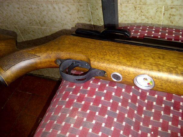 jual senapan angin pcp mouser tabung 32mm durall harga 2 juta