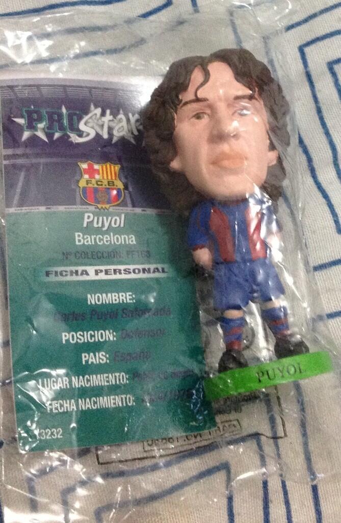 WTS: Pro Star Carles Puyol..kondisi muluss dan baru!!